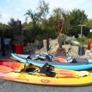 Location mogueriec, kayaks à votre disposition
